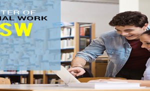 Master in Social Work – (MSW) in Indore