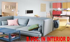 B.VOC. IN INTERIOR DESIGN